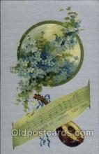 mus001035 - Music, Musician, Composer, Postcard Postcards