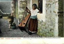 mus001040 - Musical Mexican Maid Music, Musician, Composer, Postcard Postcards