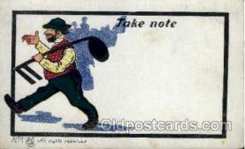 mus001041 - Music, Musician, Composer, Postcard Postcards