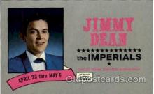 mus001050 - Jimmy Dean and the Imperials Music, Musician, Composer, Postcard Postcards