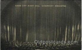 Radio City Music Hall, New York City, NY USA