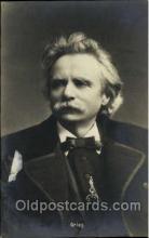 mus001066 - Grieg Music, Musician, Composer, Postcard Postcards