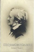 mus001081 - Richard Wagner Music, Musician, Composer, Postcard Postcards