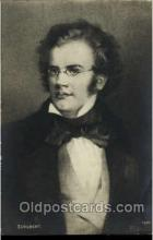 mus001082 - Franz Peter Schubert Music, Musician, Composer, Postcard Postcards