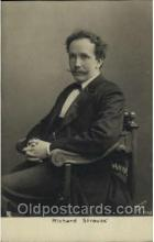 mus001083 - Richard Strauss Music, Musician, Composer, Postcard Postcards