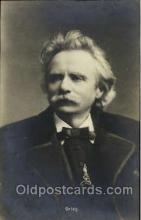 mus001114 - Grieg Music, Musician, Composer, Postcard Postcards