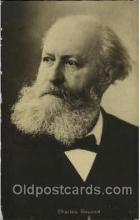 mus001120 - Charles Gounod Music, Musician, Composer, Postcard Postcards