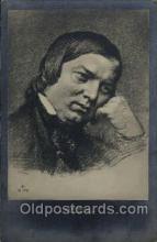 mus001135 - Robert Schumann Music, Musician, Composer, Postcard Postcards