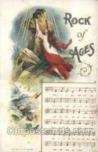 mus002009 - Rock of ages Music Postcard Postcards