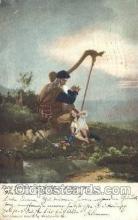 mus002037 - Harp, Kung Heimer Music Postcard Postcards