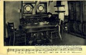 mus002044 - Music, Musical Instrument Post Card Postcards