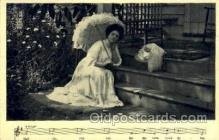 mus002050 - Music, Musical Instrument Post Card Postcards