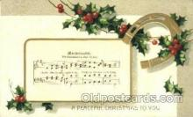 mus002053 - Music, Musical Instrument Post Card Postcards