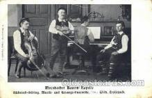 mus002073 - Moosbacher Bauern Kapelle Music, Musical Instrument Post Cards Postcards