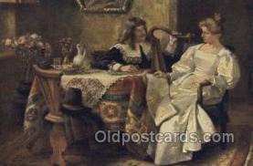mus002083 - Harp Music, Musical Instrument Post Cards Postcards