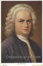 mus002123 - Joh. Seb. Bach Music Postcard Postcards