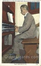 mus002125 - Anton Brees Playing, Lake Wales, Fla. USA Music Postcard Postcards