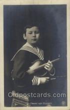 mus002129 - Franz von Vecsey Music Postcard Postcards