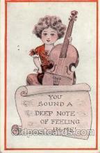 mus002134 - Postcard Post Cards Old Vintage Antique