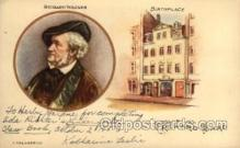 mus002137 - Richard Wagner  Postcard Post Cards Old Vintage Antique