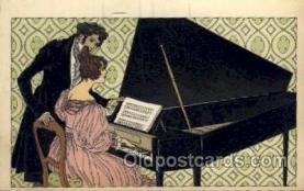 mus002151 - Postcard Post Cards Old Vintage Antique
