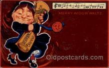 mus002152 - Merry Widow Waltz  Postcard Post Cards Old Vintage Antique