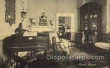 mus002156 - Music Room  Postcard Post Cards Old Vintage Antique