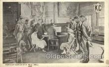 mus002157 - Popular Songs at K of C Hall  Postcard Post Cards Old Vintage Antique
