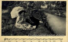 mus002162 - Postcard Post Cards Old Vintage Antique