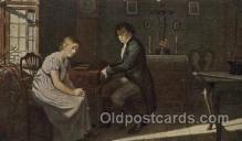 mus002167 - Danische Kunst, Beethoven  Postcard Post Cards Old Vintage Antique