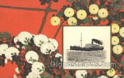 NYK001419 - S.S. Katori Maru N.Y.K. Nippon Yusen Kaisha Ship Ships