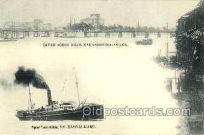 NYK001432 - Nippon Yusen Kaisha  Postcard Post Cards Old Vintage Antique