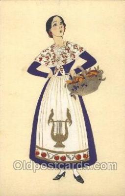 nat001044 - Gascogne Native Costume Postcard Postcards