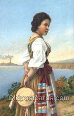 nat001068 - Native Costume Postcard Postcards