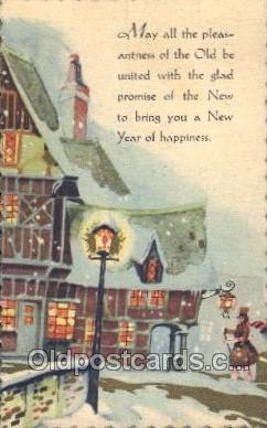 new001023 - New Years Day Postcard Postcards