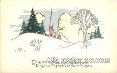 new001024 - New Years Day Postcard Postcards