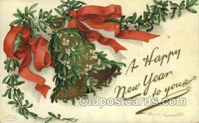 new001065 - Artist Clapsaddle, New Year Post Card Postcards