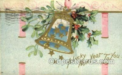 new001067 - Artist Clapsaddle, New Year Post Card Postcards