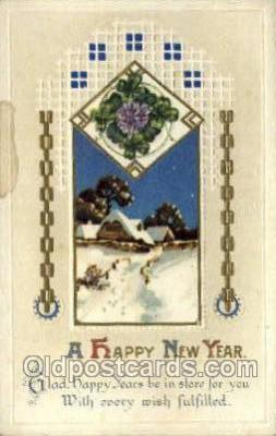 new001116 - New Year Post Cards Postcard