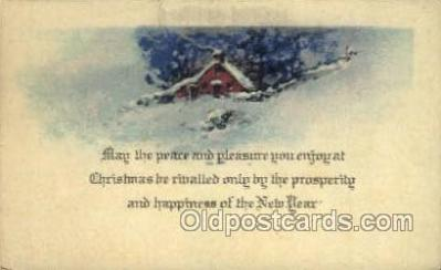 new001214 - New Years Eve Postcard Post Cards Old Vintage Antique