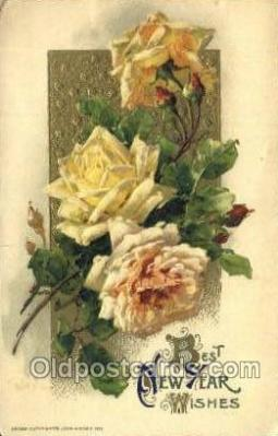 new001317 - Artist Catherine Klein, Publisher John Winsche New Years Eve Postcard Post Cards Old Vintage Antique