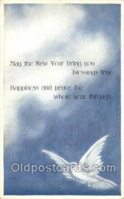 new001330 - New Years Eve Postcard Post Cards Old Vintage Antique