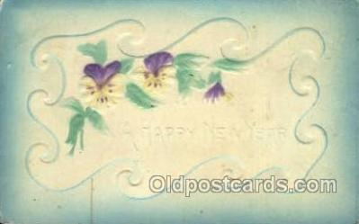 new001411 - New Years Eve Postcard Post Cards Old Vintage Antique