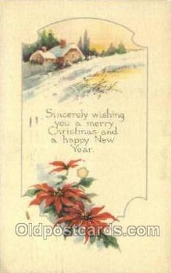new001488 - New Years Eve Postcard Post Cards Old Vintage Antique