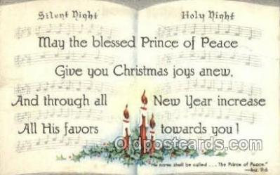 new001498 - New Years Eve Postcard Post Cards Old Vintage Antique