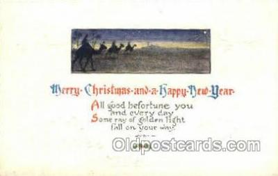 new001583 - New Years Eve Postcard Post Cards Old Vintage Antique