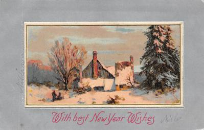 new002047 - New Years Day Postcards Old Vintage Antique Post Cards