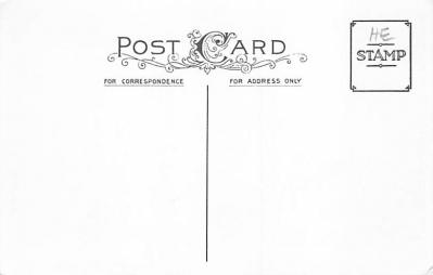 new002059 - New Years Day Postcards Old Vintage Antique Post Cards  back