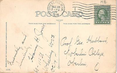 new002127 - New Years Day Postcards Old Vintage Antique Post Cards  back