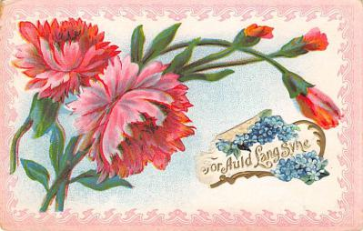 new002143 - New Years Day Postcards Old Vintage Antique Post Cards